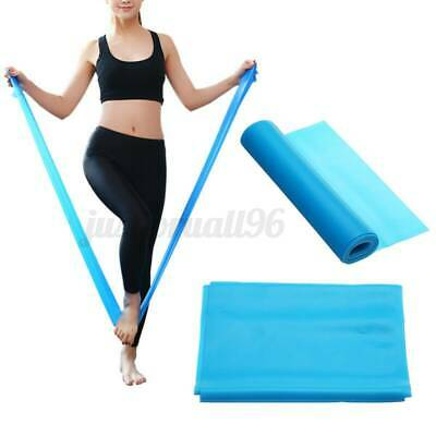 150CM Yoga Resistance Band Fitness Stretch Belt Excersize Pilates Latex Strap