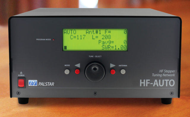 Palstar Hf Auto 9005375 1800w Autotuner For Ham Radio For Sale Online Ebay