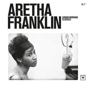 ARETHA-FRANKLIN-SUNDAY-MORNING-CLASSICS-2-VINYL-LP-NEW