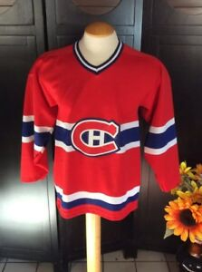 Canadiens-Montreal-Jersey-Maska-size-men-039-s-small