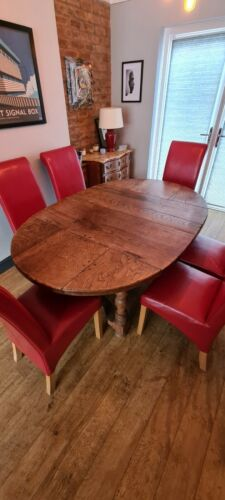 6 Vibrant Red Dining Table Chairs