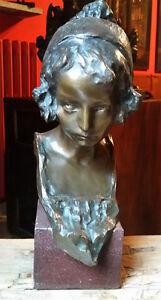 Scultura-in-bronzo-di-Edoardo-Rubino-Fusione-d-039-epoca-inizio-XX-secolo-Antico