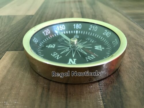 Precision Lensatic Compass Military Style Outdoor Camping Hiking Survival