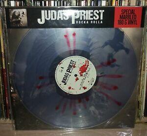 JUDAS-PRIEST-ROCKA-ROLLA-BLOODY-LIMITED-SPLATTER-LP