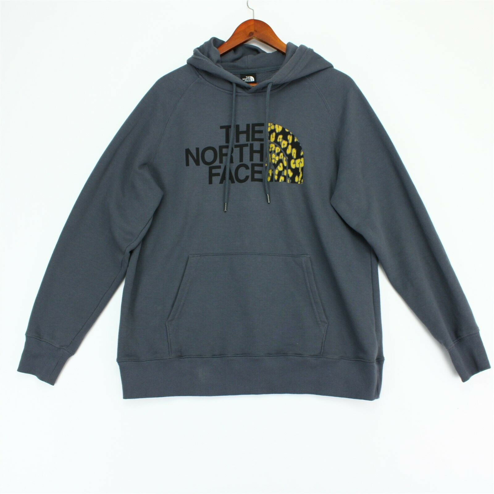 The North Face Half Dome Hoodie Womens Large Gray Sweatshirt