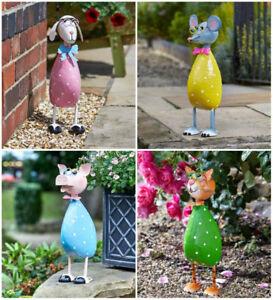 Metallo esterno ornamenti da giardino sentiero novit for Ornamenti giardino