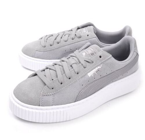 Puma Safari Suede Platform  Women Fashion Sneakers  364594 02 Fast Shipping LO7b
