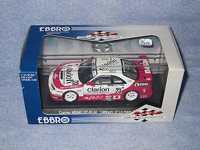 Dv6664 Ebbro Clarion Nismo Gt-rlm 24h Mans 1995 #23 Ref 358 1/43 In Many Styles Cars: Racing, Nascar Toys & Hobbies