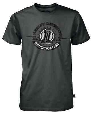 Harley-Davidson Men's Black Label Sprocket Short Sleeve T-Shirt - Gray 30291532