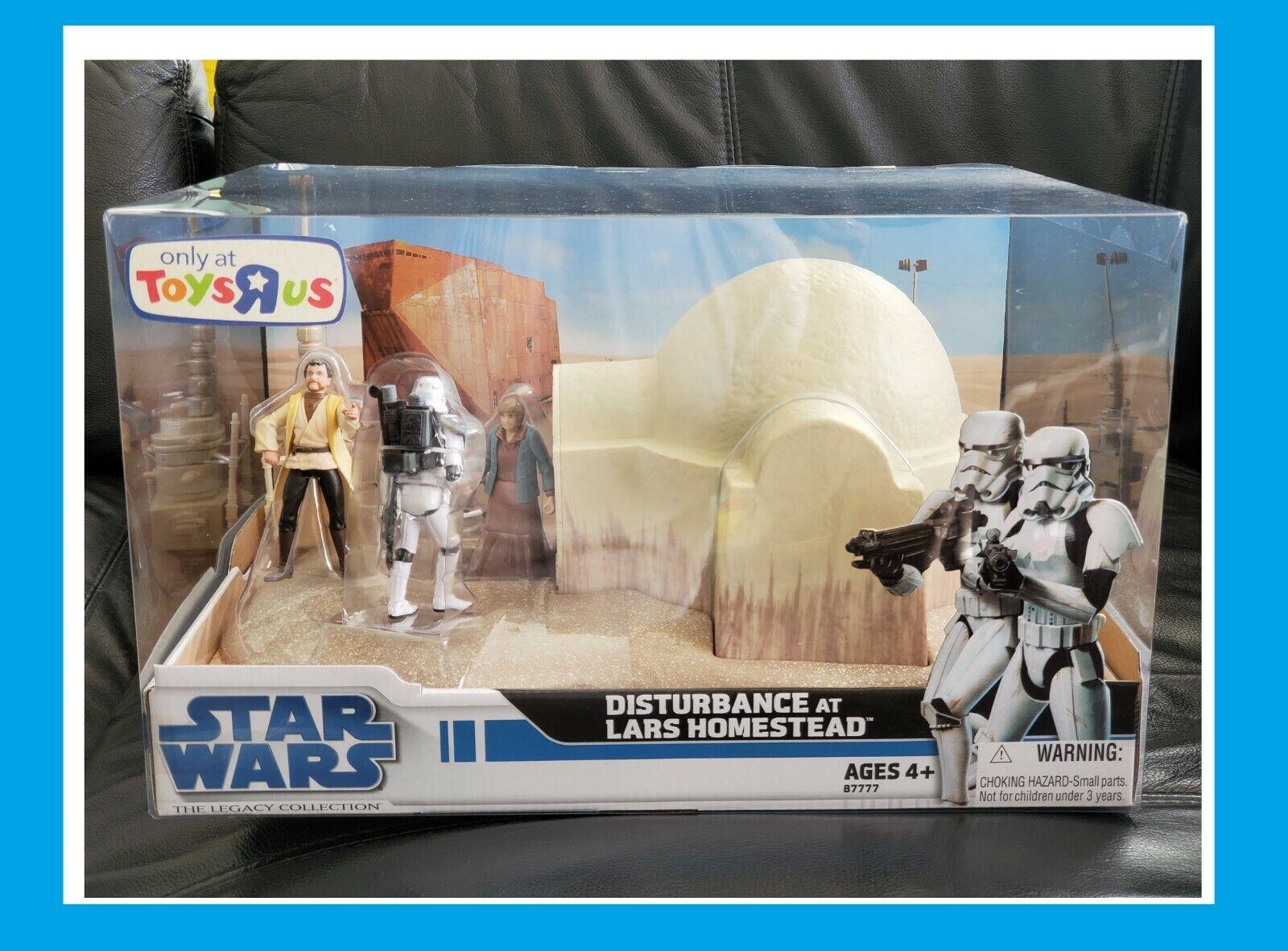 HASBRO estrella guerras THE LEGACY COLLECTION  giocattoli R US DISTURBANCE AT LARS HOMESTEAD  scelta migliore