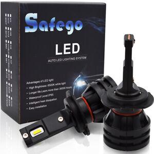Scheinwerfer-Auto-Gluehlampe-2x-H7-110W-12000LM-LED-mit-Geblaese-6000K-CR-Chip