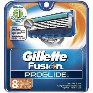 Gillette Fusion Proglide Refill Razor Blade Cartridges, 8 Ct.