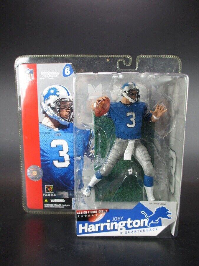 Joey Harrington Detroit Lions McFarlane football figure NFL Ser 6