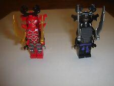 2 LEGO NINJAGO GARMATRON GENERAL KOZ & Lord Garmadon MINIFIGURES  LOT new