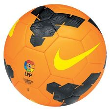 NIKE T90 Total 90 LEAGUE LFP  Soccer Ball  2013 NEW Orange/Charcoal/Gold Size 3
