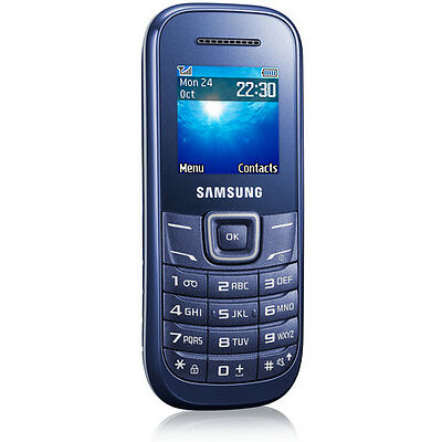 Samsung  Guru GT-E1200T - Indigo Blue - Mobile Phone