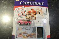 Vintage 05 Pepsi Cararama Tin Box Edition Diecast Vw Pink Beetle Convertible