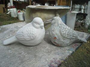 """concrete plaster mold LATEX AND FIBERGLASS/ """"dove"""""""