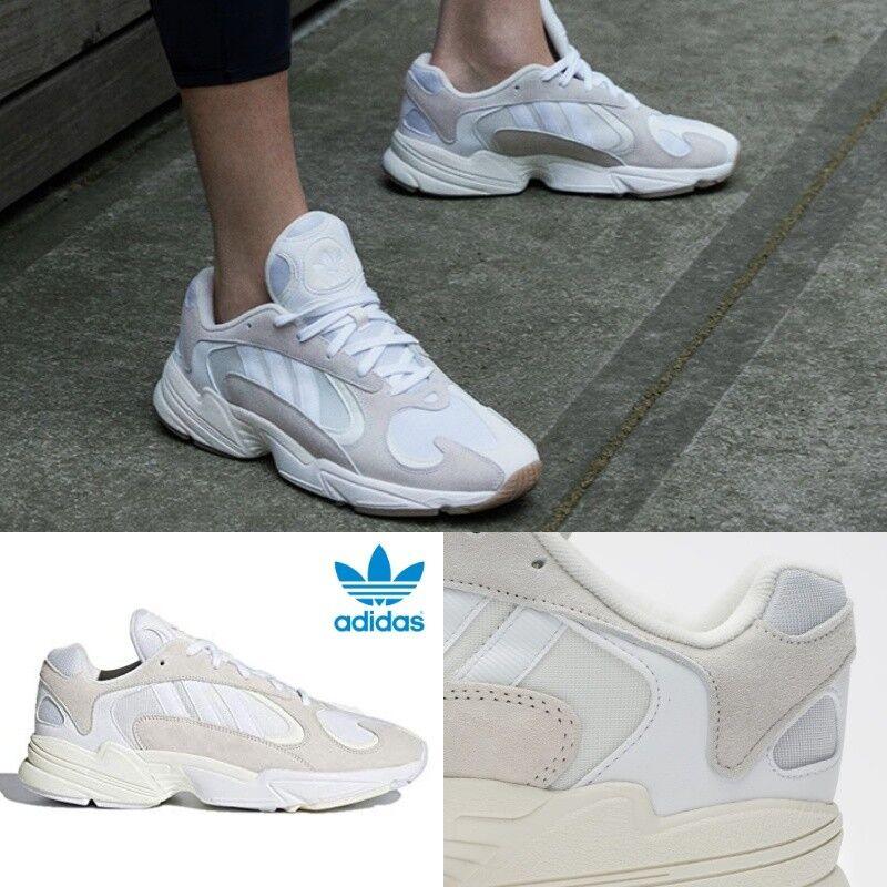 Adidas Originals Yung-1 Cloud Running Turnschuhe Weiß B37616 Sz 5-13 Limited