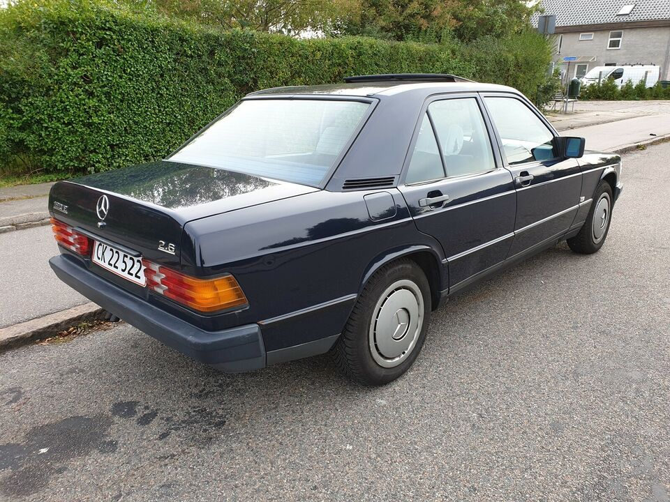 Mercedes 190, 2,0, Benzin