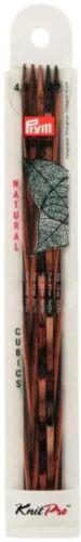 Prym cubics 4 angulares agujas aguja juego madera calcetines truco agujas calcetines agujas