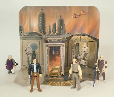 Vintage Rare Star Wars Sears Cloud City Play Set With Figures No Box Or Pegs Ebay