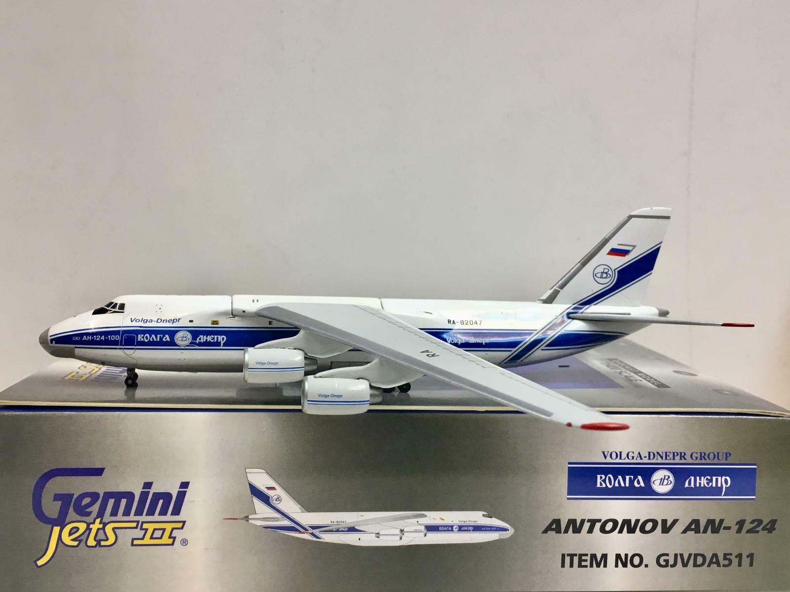 Gemini Jets 1 400 Volga Dnepr Antonov AN-124 RA-82047 gjvda 511