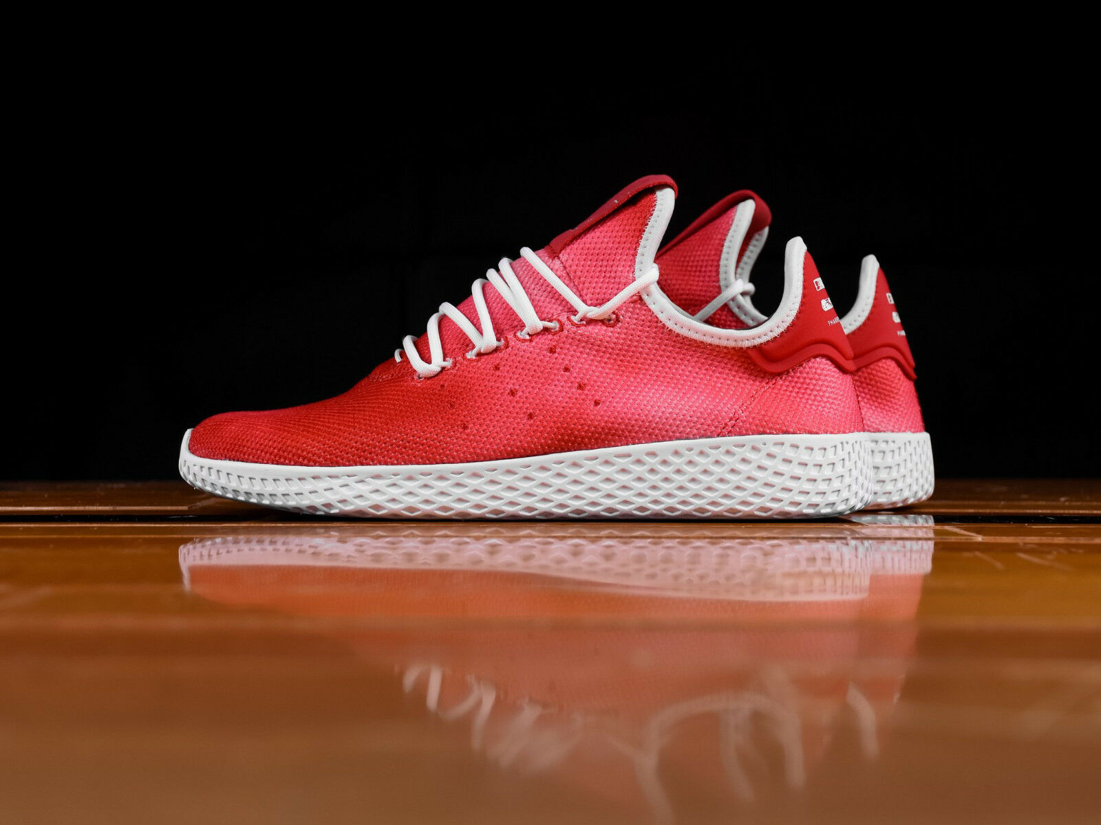 Adidas ADIDAS ORIGINALS PW TENNIS HU DA9615 Scarlet White Pharrell Williams c1