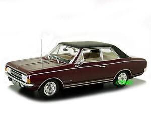 OPEL-COMMODORE-A-1966-rosso-scuro-Minichamps-1-43