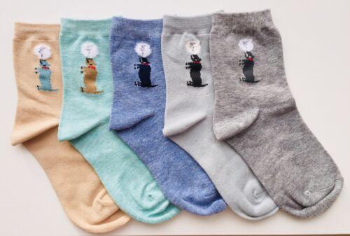 Chaussettes avec chiens en Coton Doux Unisexe 3 différents Pack Combos Taille UK 3-6