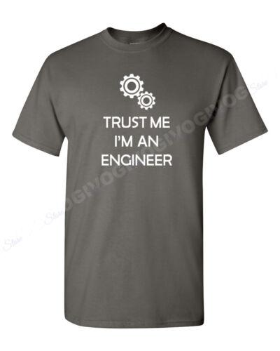 Trust Me I/'m An Engineer T Shirt Engineering Tee Funny T-shirt Graduation Gift
