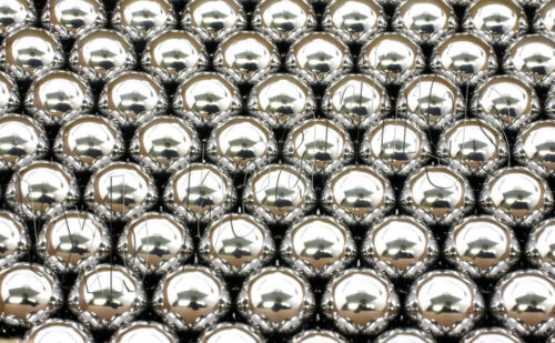 100 7//16 inch Diameter Stainless Steel 440C G16 Bearing Balls