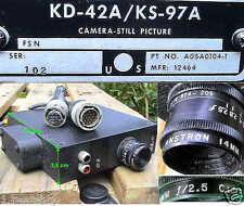 BW 16mm LUFTBILD KAMERA FLUGZEUG F4-F PERISCOPE CAMERA STILL PICTURE ANSTRON AER