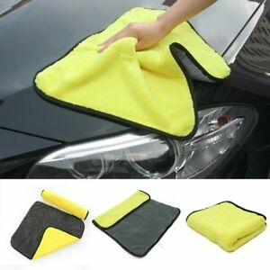 Super-Absorbent-Microfiber-Towel-Car-Wash-Cleaning-Drying-Cloth-Tool-Hemming