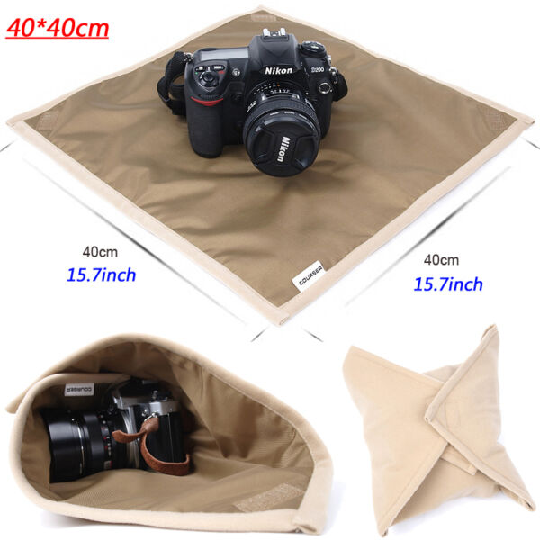 40*40cm Waterproof Dslr Camera Soft Wrap Padded Cover Protector Lens Cover Cloth à Vendre