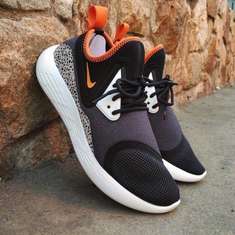 Nike Men's Black/Orange BRAND Lunarcharge BN Shoes Size 9 BRAND Black/Orange NEW!!! [933811-081] 2b0296