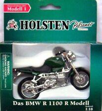 Holsten-MR Nr.01 + Motorrad Grüne BMW R 1100 R - 2003/1- 1:18 (OVP)