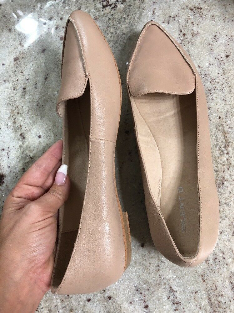 Silent D Gyro Leather Loafer Nude. Tan Slip-Ons  Size Size Size 40 692105