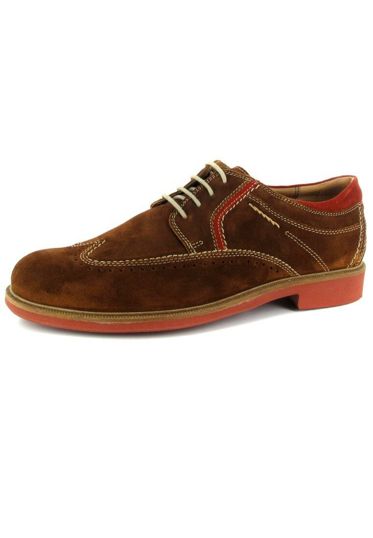 Sioux zapatos in Plus Talla Large Mens zapatos marrón XXL