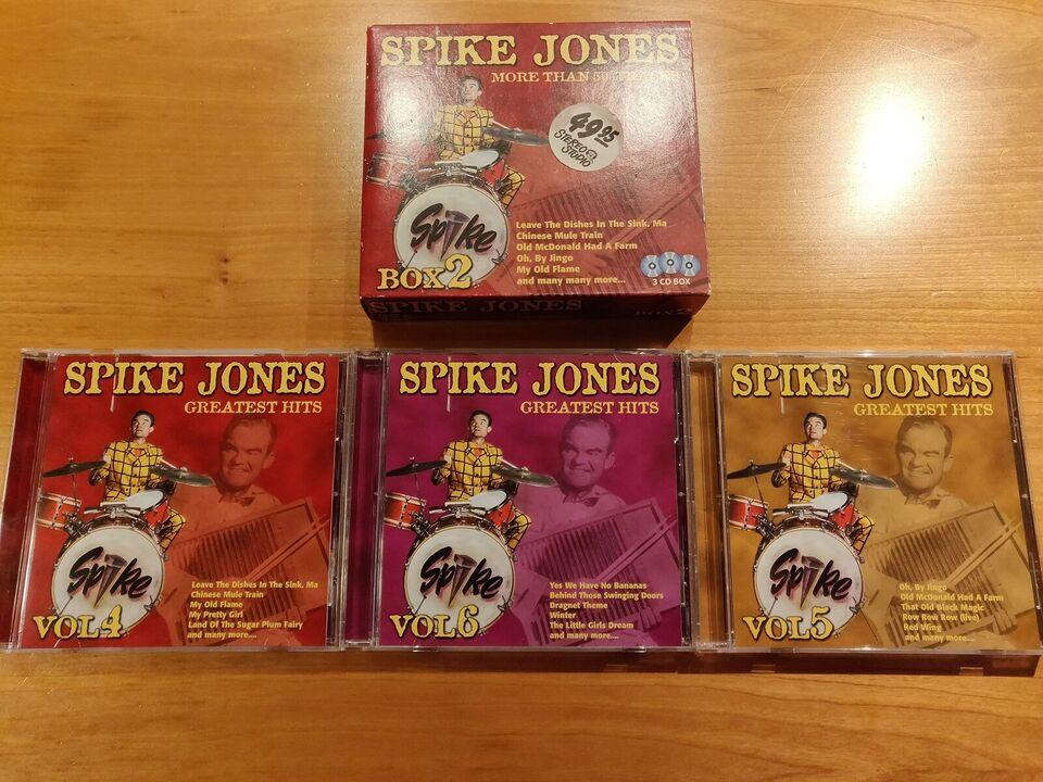 Spike Jones: Greatest Hits Vol. 4-5-6, jazz