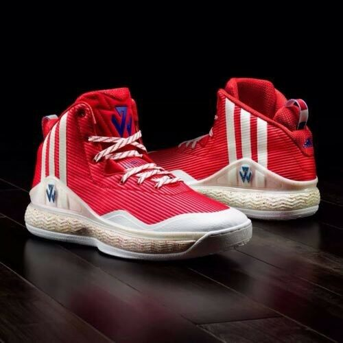 ADIDAS MEN'S  JOHN WALL S84211  BASKETBALL  SHOES 100% AUTHENTIC
