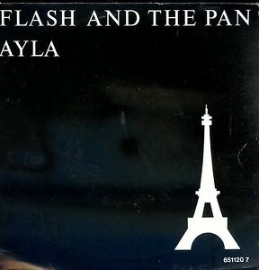 7inch-FLASH-AND-THE-PAN-ayla-HOLLAND-1987-EX-PS