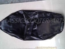 Vespa Black long seat saddle COVER VBB VBC VLB GL ALLSTATE V8077