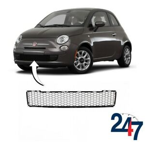 new fiat 500 312 2007 2015 front bumper center lower. Black Bedroom Furniture Sets. Home Design Ideas