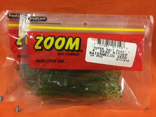 "ZOOM 4/"" Dead Ringer 20cnt #017-019 Watermelon Seed 2 PCKS"