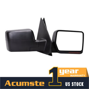 Pair Power + Heated + Turn Signal Towing Mirror For 2004-2006 Ford F150 Pickup