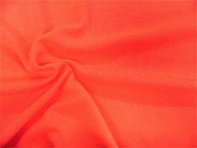 Liverpool con textura de tela 4 vías tramo Scuba Neón Naranja L201 | eBay