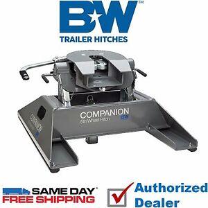 Fifth Wheel To Gooseneck Hitch >> Rvk3500 B W Companion 5th Wheel Rv Gooseneck Hitch Adapter 20 000