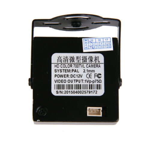 HD 700TVL CCD OSD D-WDR Mini CCTV PCB FPV Wide Angle Camera 2.1mm Lens