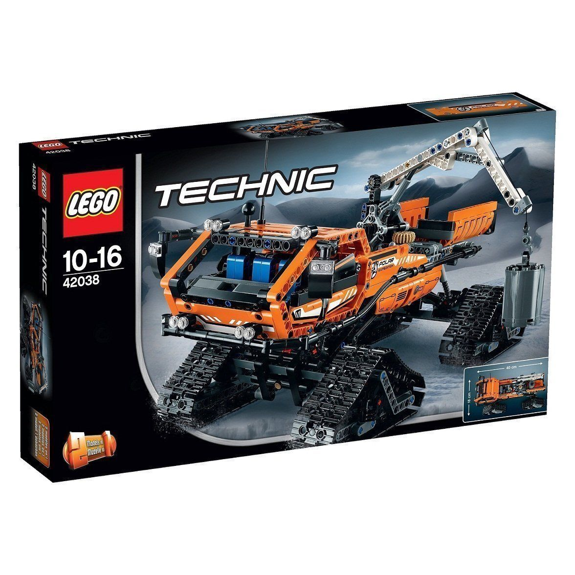 Lego - Collection Technic - Set 42038   Artic Truck - Neuf New
